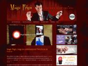 screenshot http://www.magicregis.fr Magicien Paris