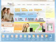 Magic'Site - Outil de création de site internet en ligne