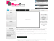 screenshot http://www.magnetdeco.com/ aimant et magnet