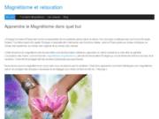 screenshot http://www.magnetisme-relaxation.fr/ magnétiseur guerisseur paris