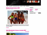 Tenue de plage pour femme
