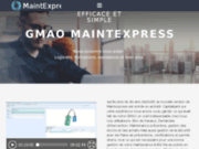 screenshot http://www.maintexpress.com logiciel de gmao