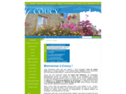 screenshot http://www.mairie-coucy.fr commune de coucy : au cœur de la campagne des ardennes.