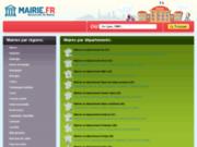 screenshot http://mairie.fr/ annuaire de mairies