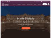 screenshot https://mairie.webcom-agency.fr/ mairie webcom agency