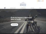 Maison Blanche Formation, centre de formation linguistique à Besançon