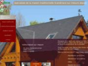 screenshot http://www.maison-bois-ecolo.fr la maison écologique en bois massif
