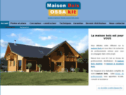screenshot http://www.maison-bois-ossa-kit.com/ maison bois ossa kit