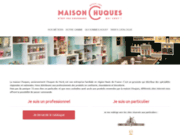 screenshot https://maison-chuques.fr Maison Chuques