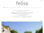 screenshot http://www.maison-felisa.com chambre d hôtes et maison d hôtes de charme en provence : charme, design et bien être à 15km.