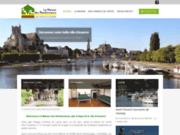 screenshot http://www.maison-rando.fr la maison des randonneurs à auxerre