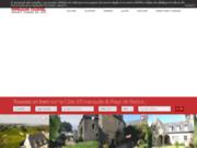 screenshot http://www.maison-rouge.fr immobilier dinard, dinan, saint malo