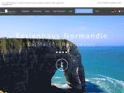 screenshot http://www.maisonbeaurevoir.eu la maison beaurevoir en normandie