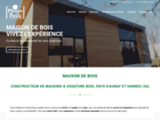 screenshot http://www.maisondebois.eu maison de bois
