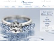 screenshot http://www.maisondelalliance.com alliance et diamant à paris
