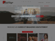 screenshot http://www.maisondumariage.com mariage gironde