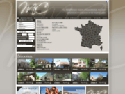 screenshot http://www.maisons-caractere.com maison, château, propriété, demeure la rochelle