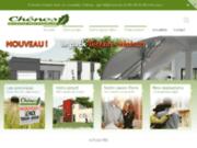 screenshot http://www.maisons-chenes.com/ CHENES CONSTRUCTIONS