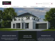 screenshot http://www.maisons-stylea.fr/ Constructeur de maisons individuelles sur mesure