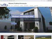 screenshot http://www.maisons-tradition-provencale.com construction de maison individuelle
