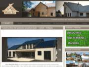 screenshot http://www.maisonsbois-bac.com/ Bac Maisons Bois à Orléans - Loiret