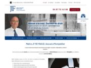 screenshot http://www.maitre-reynaud.com maître jean-françois reynaud