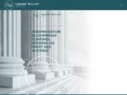 screenshot http://www.maitrewilliot.fr avocat indemnisation accident