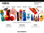 screenshot http://www.malilibulle.com Produits cosmétiques Coréens et BB crèmes originaux et révolutionnaires.