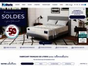 screenshot http://www.maliterie.com maliterie - direct usine -