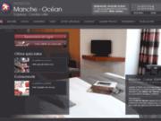 screenshot http://www.manche-ocean.com hôtel vannes