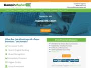 screenshot http://www.mancies.com mancies