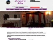 screenshot http://www.manoir-de-savigny.com Chambres d'hôtes dans la manche