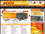 screenshot http://www.manudepot.com le portail de la fourniture industrielle