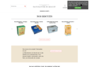 La Manufacture du biscuit est un site de biscuits dédié aux professionnels
