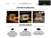 screenshot https://www.manufacture-du-biscuit.com/ Fabricants français de biscuits artisanaux et traditionnels
