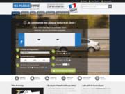 Maplaquedimmat - Plaques d'immatriculation en ligne