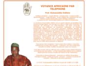 screenshot http://www.marabout-voyant-africain.com marabout africain