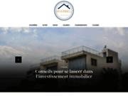 screenshot http://www.marbel-immobilier.com/ agence immobilière