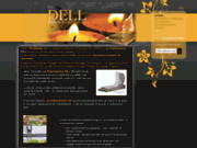 screenshot http://www.marbrerie-dell.com/ monuments funéraires et marbrerie à messancy.