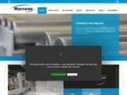 screenshot http://www.marceau.fr manutention continue