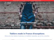 screenshot https://www.marceletjean.fr/tablier-professionnel/ Tablier professionnel