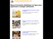 screenshot http://www.marchesdepays.fr artisanat d'art et gastronomie de france