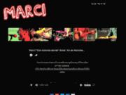 screenshot http://www.marci.fr Le chanteur Marci