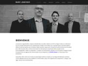screenshot http://www.marcleseyeux.com trio jazz événementiel