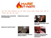 screenshot http://www.mare-et-monti.fr restaurant italien essonne 91