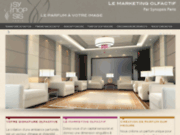 screenshot http://www.marketingolfactif.net Marketing olfactif