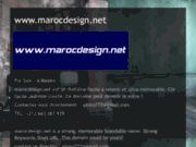 screenshot http://www.marocdesign.net/ Maroc Design