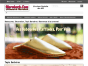 screenshot http://www.marokech.com Salon marocain
