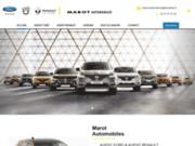 screenshot http://www.marot-automobiles.com garage en Vendée 85