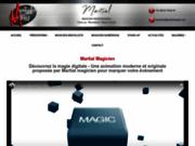 screenshot http://www.martialmagie.com martial - magicien paris